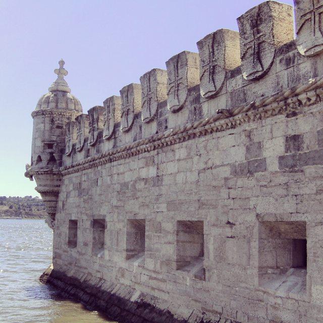 Torre de Belem à Lisbonne.
