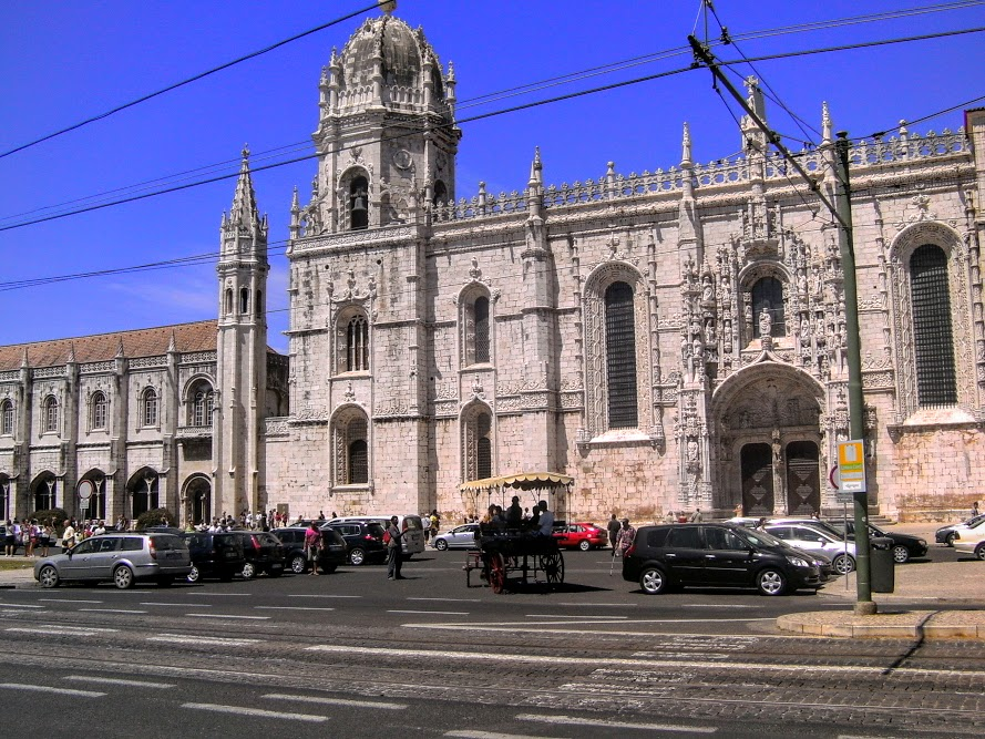 Le Monastère des Hiéronymites (en portugais : Mosteiro dos Jerónimos)