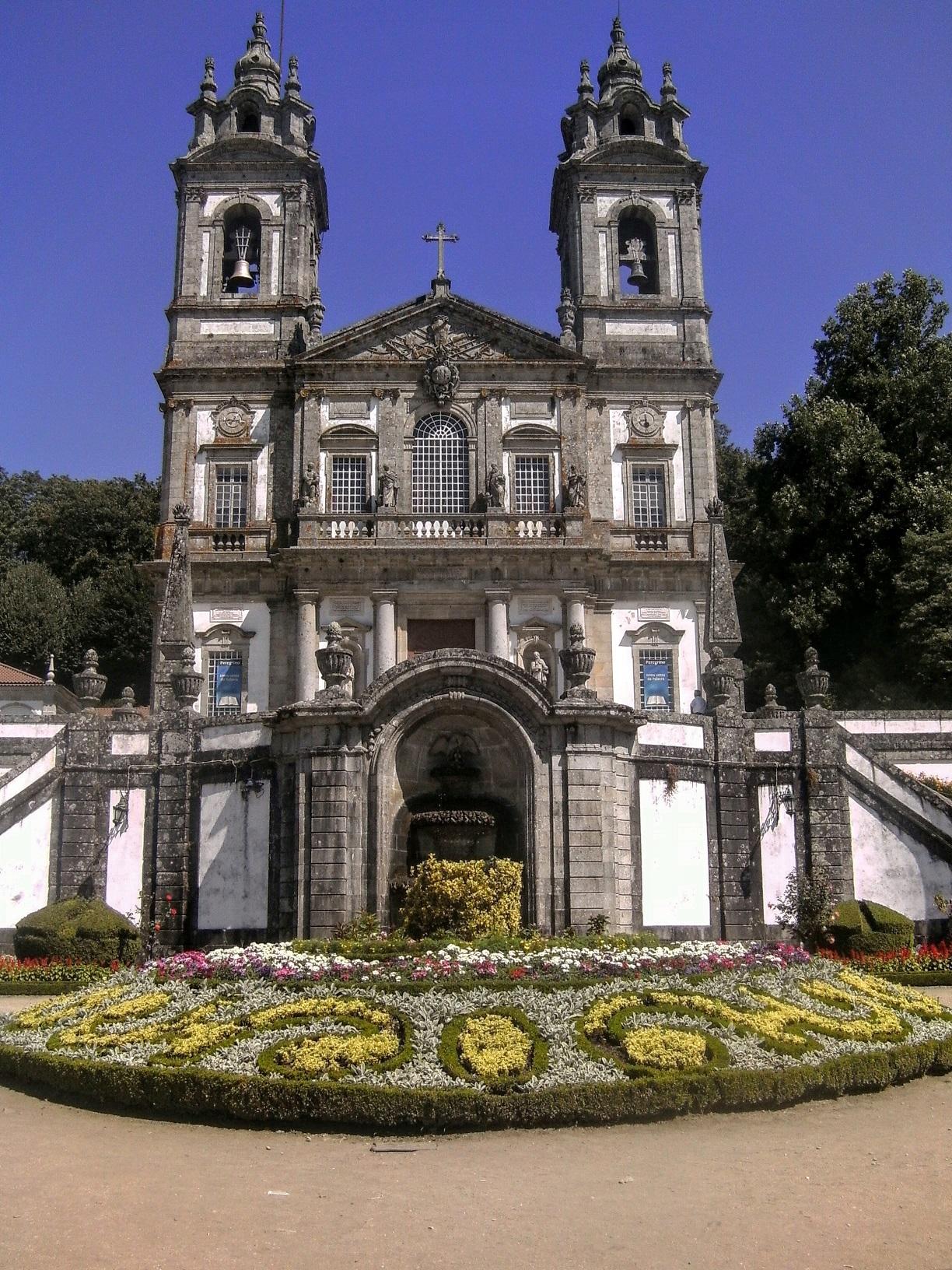 L'église du bon Jésus du Mont