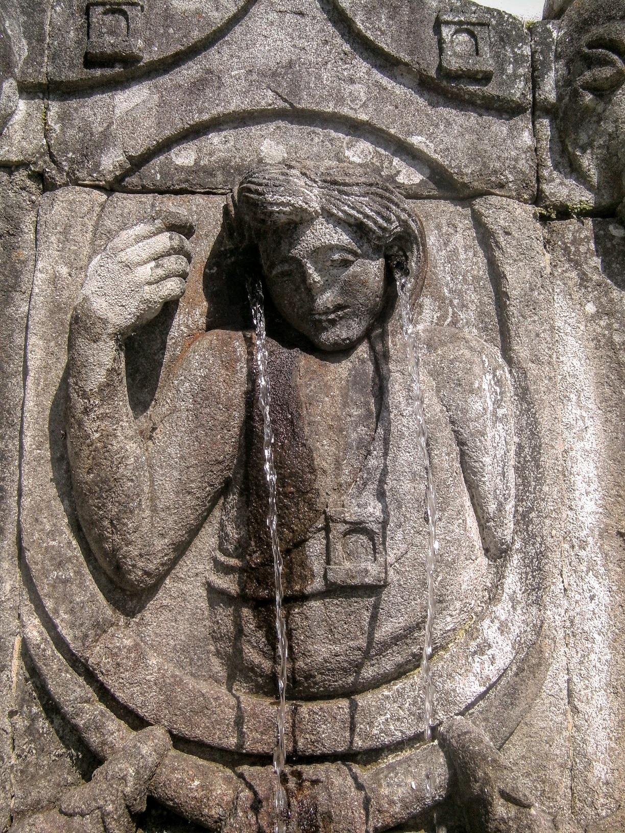 La fontaine de l'oüie du Bom Jésus