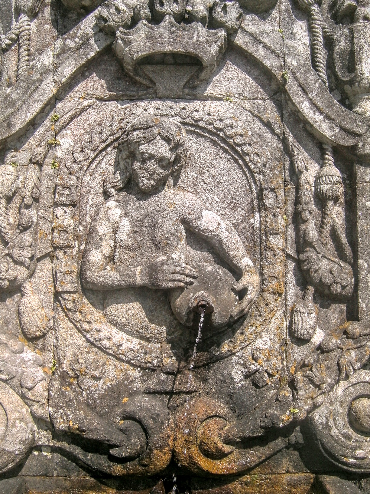 La fontaine du toucher du bom jésus